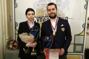 Photo: Vladimir Barsky and Eteri Kublashvili